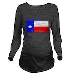 Texas.jpg Long Sleeve Maternity T-Shirt