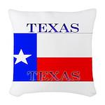 Texas.jpg Woven Throw Pillow