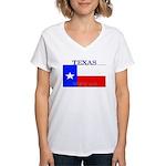 Texas.jpg Women's V-Neck T-Shirt