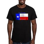 Texas.jpg Men's Fitted T-Shirt (dark)