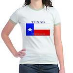 Texas.jpg Jr. Ringer T-Shirt