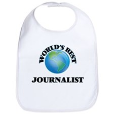 World's Best Journalist Bib