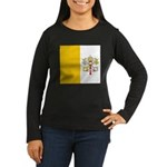 Vaticanblank.jpg Women's Long Sleeve Dark T-Shirt