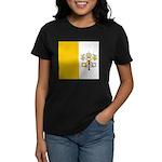 Vaticanblank.jpg Women's Dark T-Shirt
