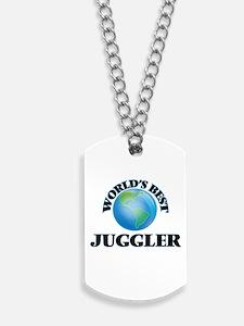 World's Best Juggler Dog Tags