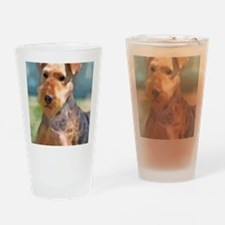Unique Airedale terrier rescue Drinking Glass