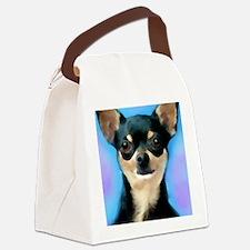Cute Chihuahua mom Canvas Lunch Bag