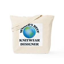 World's Best Knitwear Designer Tote Bag