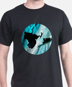 Snowmobiling on Icy T-Shirt