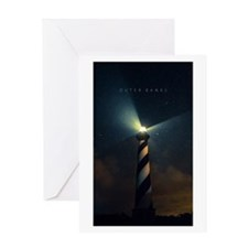 Cape Hatteras Light Card Greeting Cards