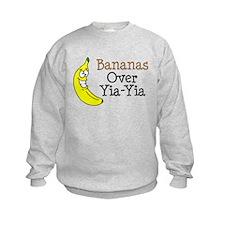 Bananas Over Yia-Yia Sweatshirt