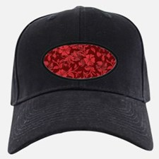 Red Floral- Baseball Hat