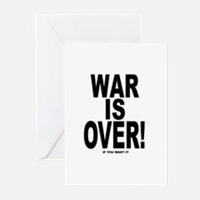 War is Over, If You Want It Greeting Cards (Packag