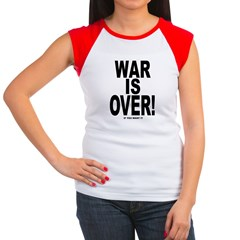 War is Over, If You Want It Women's Cap Sleeve T-S