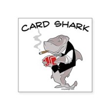 Card Shark Sticker
