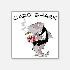 Card Shark Sticker