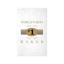 World's Best Baker 3'x5' Area Rug