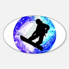 Snowboarder in Whiteout Decal