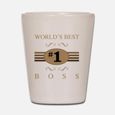 World's Best Boss Shot Glass