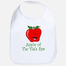 Apple of Yia-Yia's Eye Bib