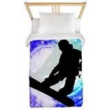 Snowboarding Twin Duvet Covers