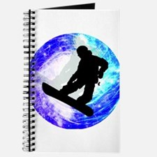 Snowboarder in Whiteout Journal