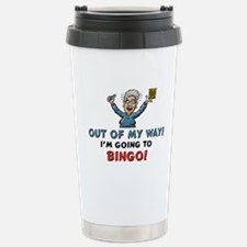 BINGO! Stainless Steel Travel Mug