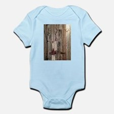 western cowboy boots barnwood country Body Suit