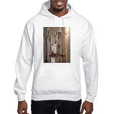 western cowboy boots barnwood co Hoodie Sweatshirt
