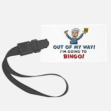 BINGO! Luggage Tag