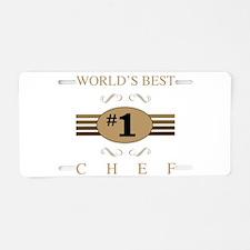 World's Best Chef Aluminum License Plate