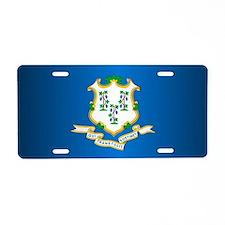 Bristol connecticut Aluminum License Plate