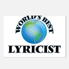 World's Best Lyricist Postcards (Package of 8)