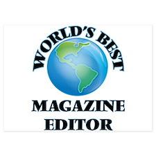 World's Best Magazine Editor Invitations
