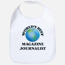 World's Best Magazine Journalist Bib
