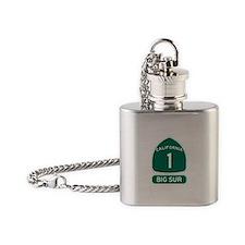 Big Sur - PCH - CA1 Flask Necklace