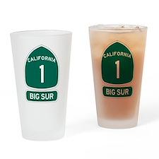 Big Sur - PCH - CA1 Drinking Glass