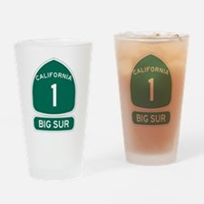 Big Sur - PCH - CA1 Drinking Glass