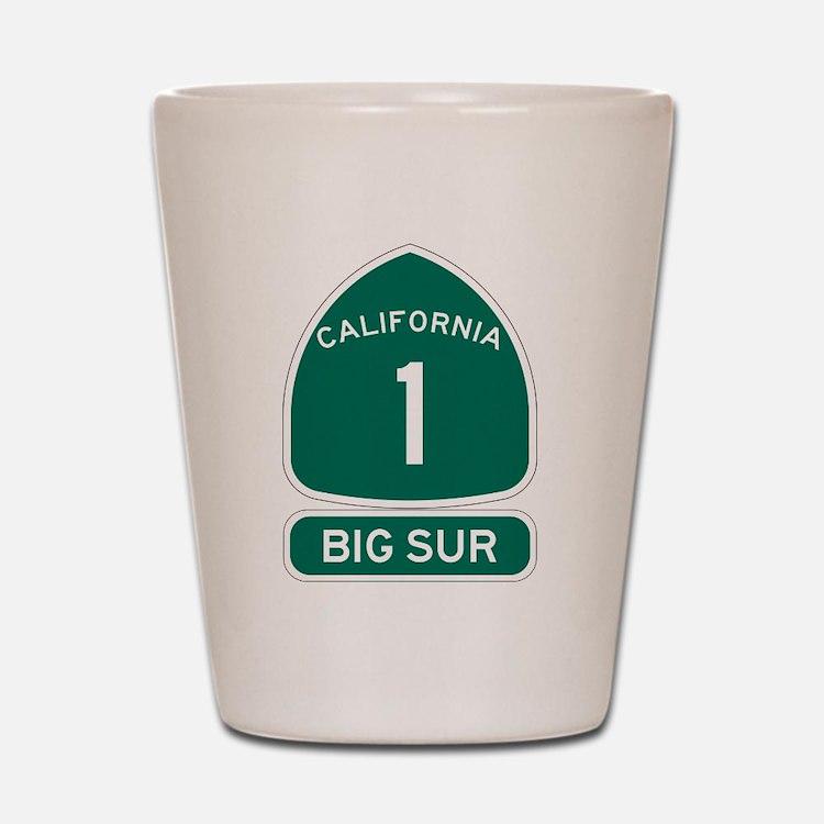 Big Sur - PCH - CA1 Shot Glass