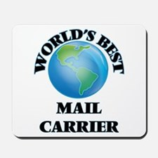 World's Best Mail Carrier Mousepad