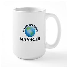 World's Best Manager Mugs