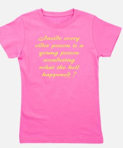 Getting Older Girl's Tee