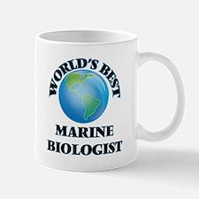 World's Best Marine Biologist Mugs