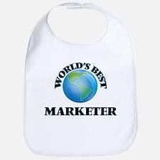 World's Best Marketer Bib