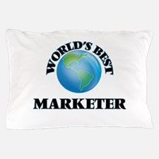World's Best Marketer Pillow Case