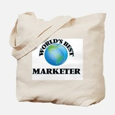 World's Best Marketer Tote Bag