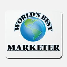 World's Best Marketer Mousepad