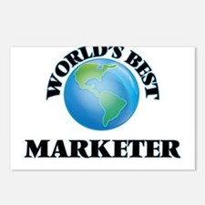 World's Best Marketer Postcards (Package of 8)