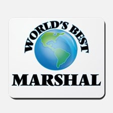 World's Best Marshal Mousepad