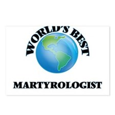 World's Best Martyrologis Postcards (Package of 8)